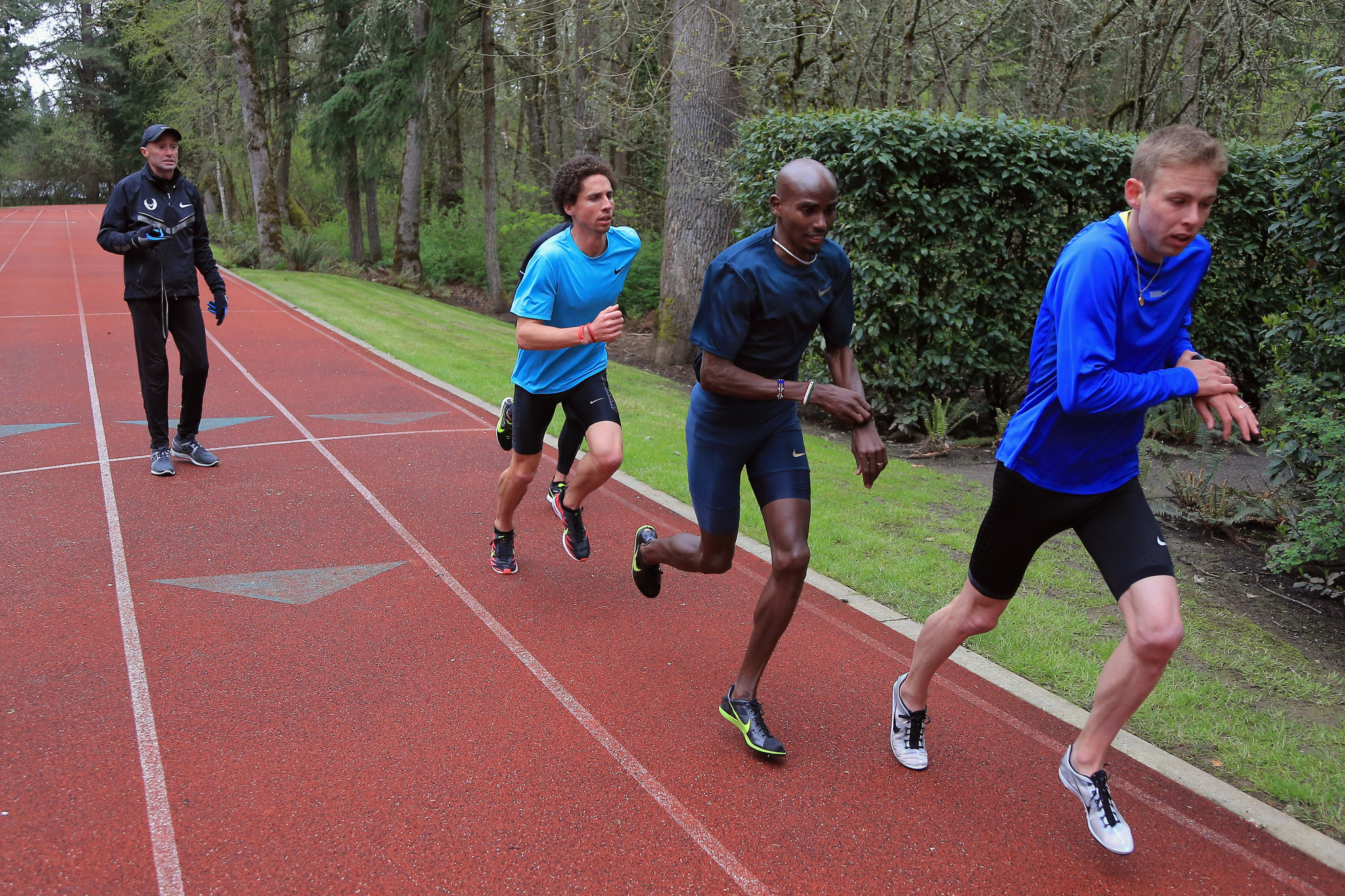 nike project oregon salazar mo farah