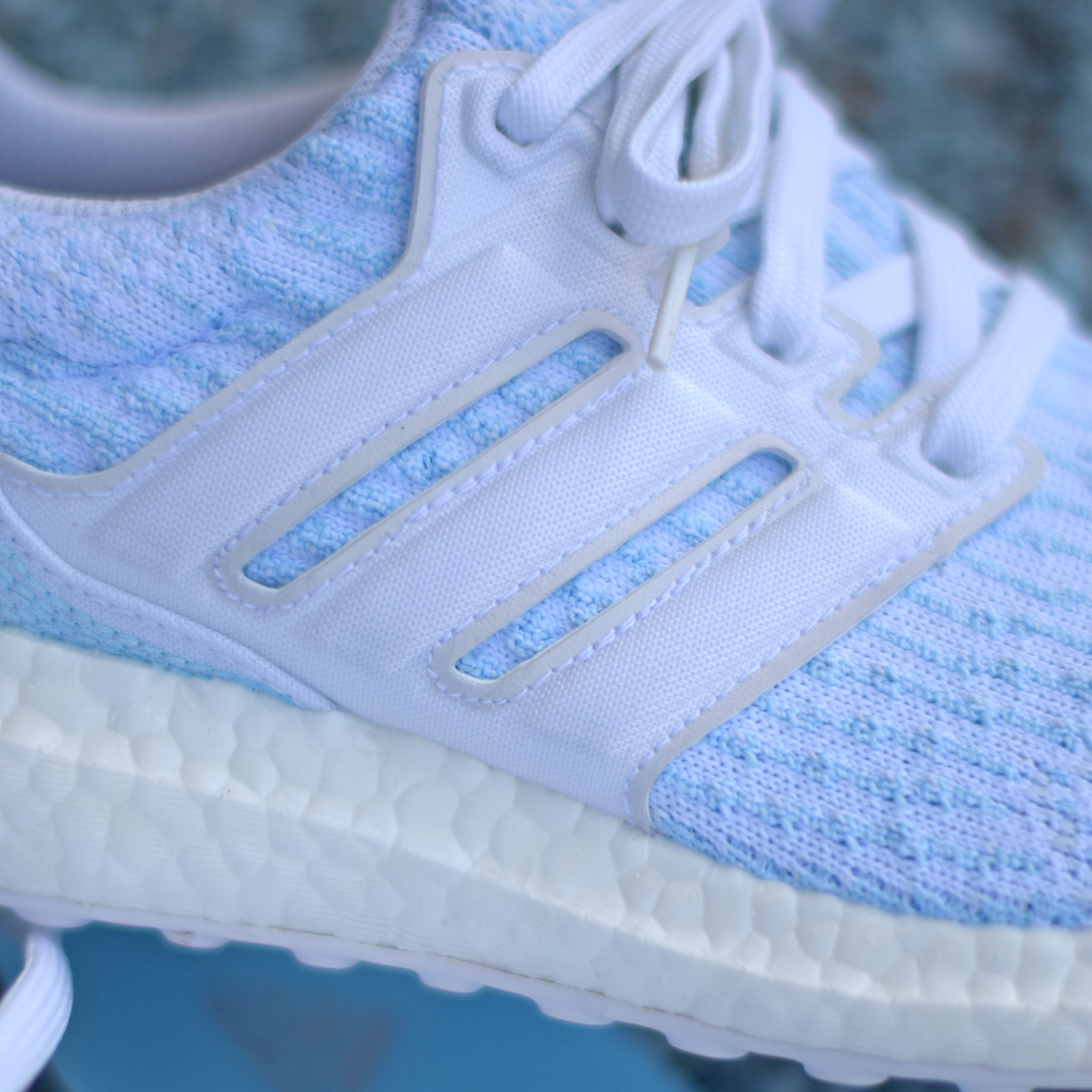 A New Parley x adidas UltraBoost 3.0 'Ice Blue' is Coming