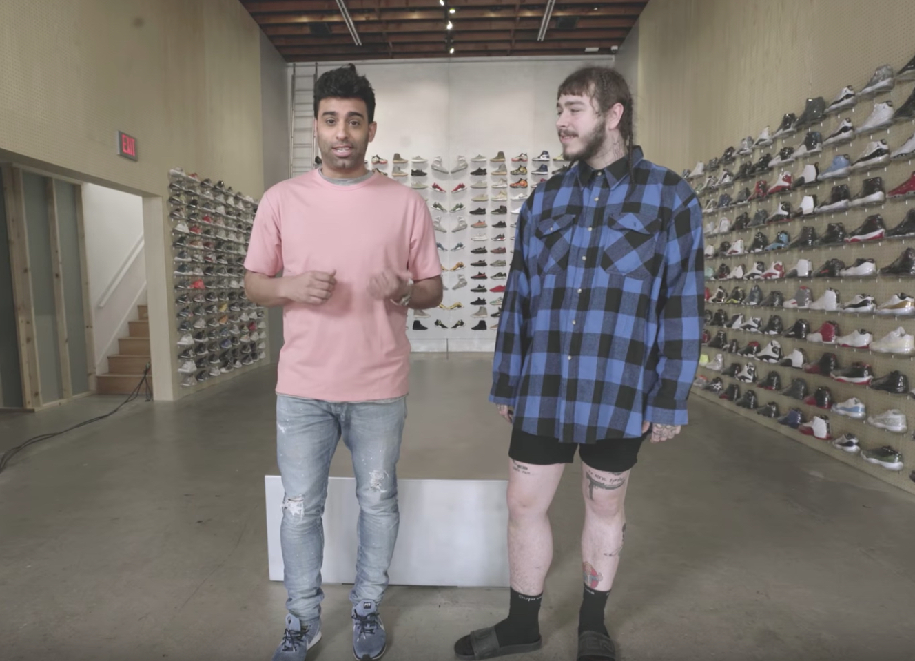 post malone sneaker shopping 1