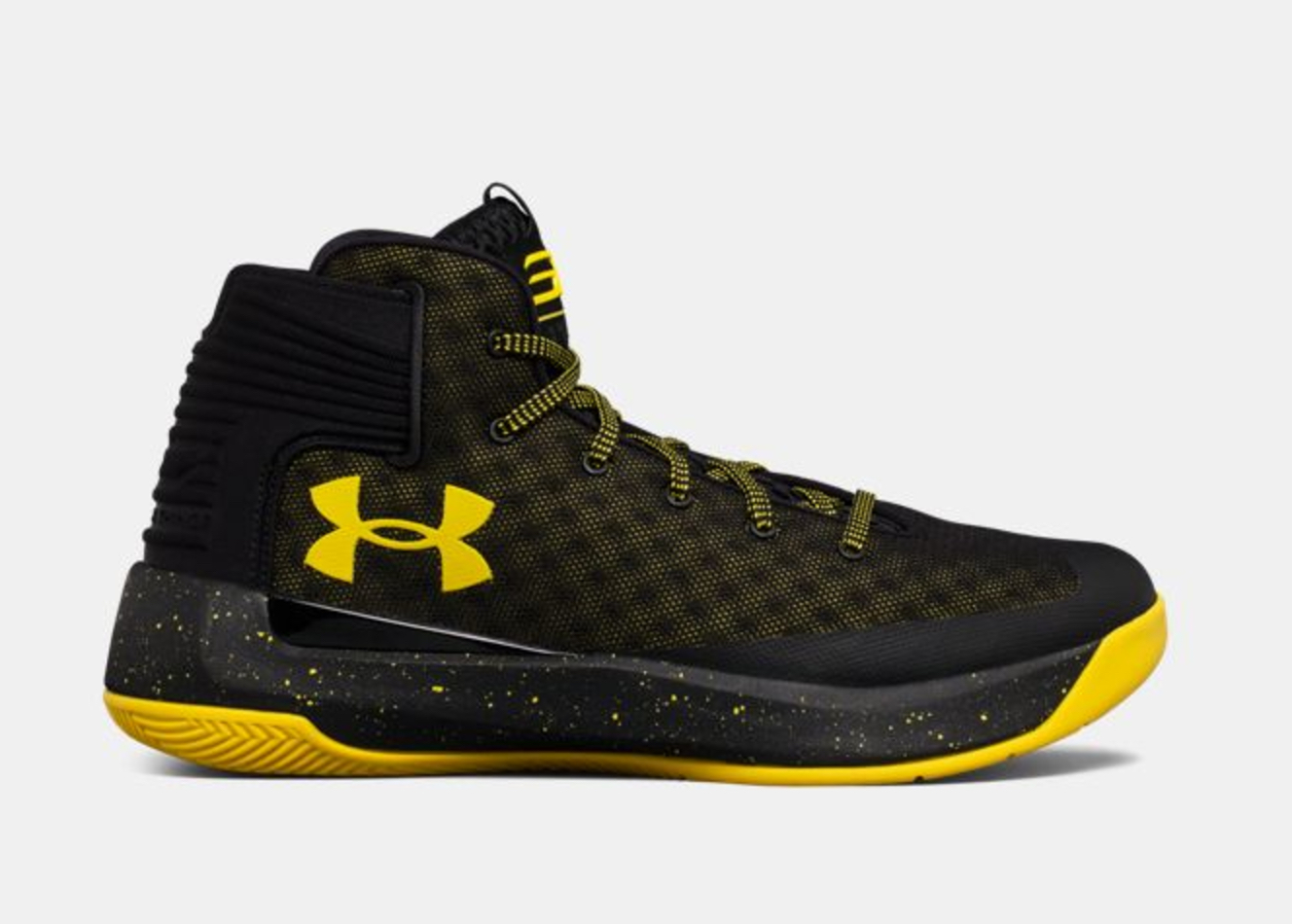 under armour curry 3ZER0 black taxi 4