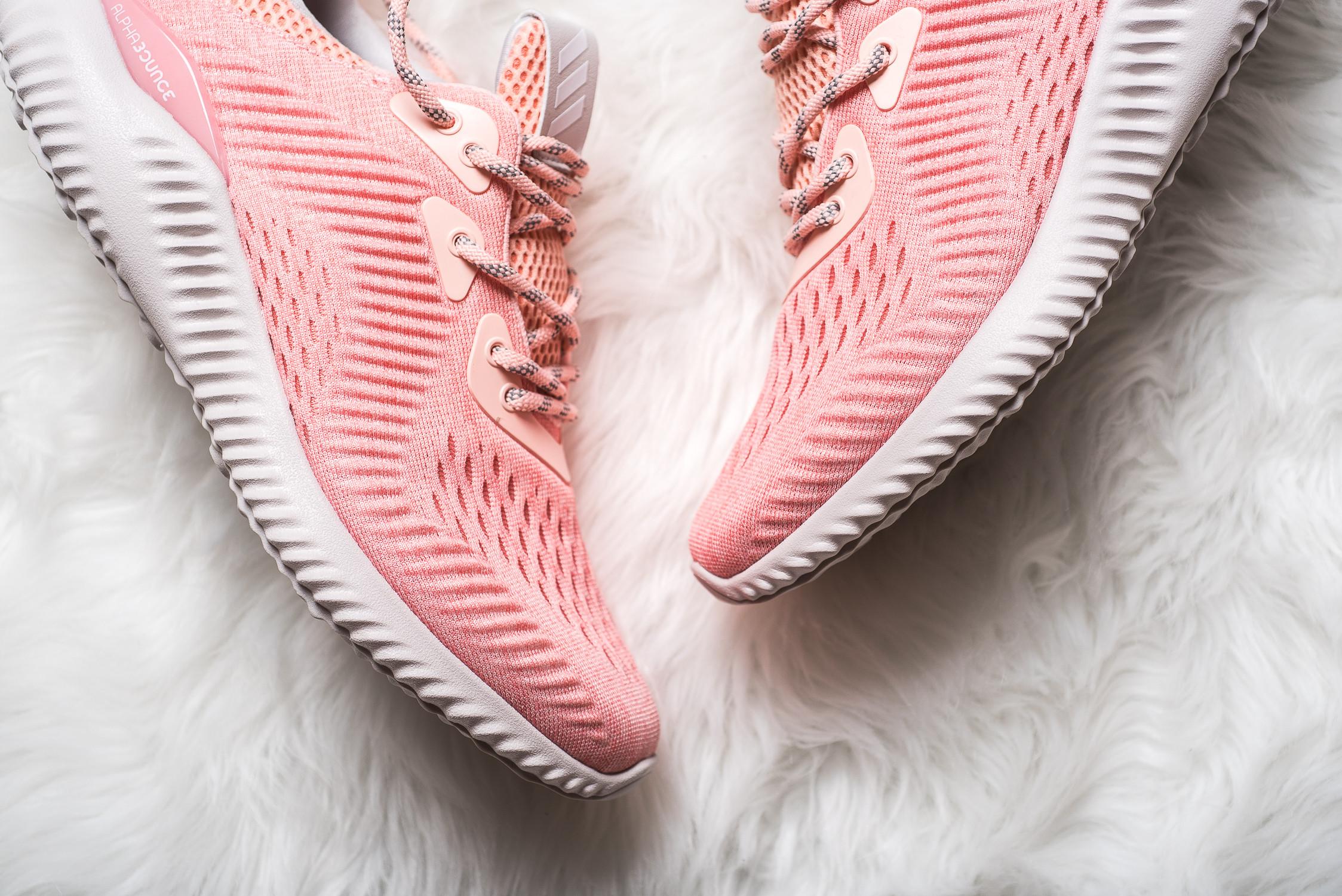 womens adidas Alphabounce EM Pink 2