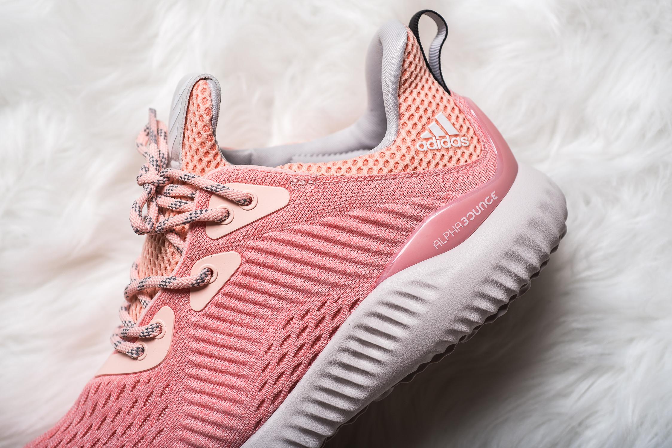womens adidas Alphabounce EM Pink 5