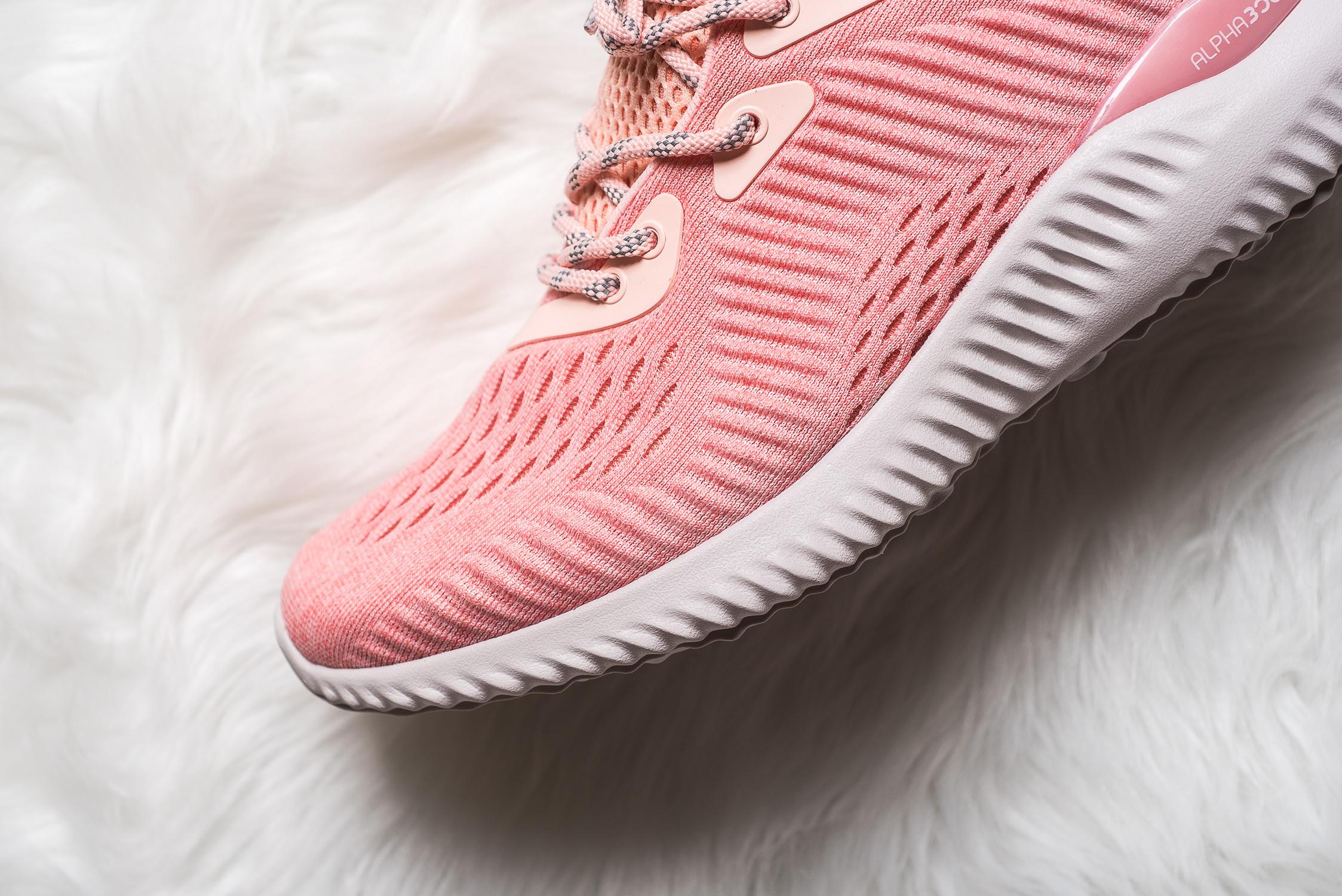 womens adidas Alphabounce EM Pink 6