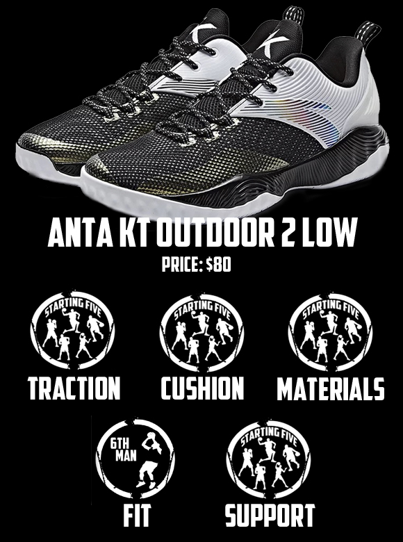 ANTA KT Outdoor 2 Low Performance Review score