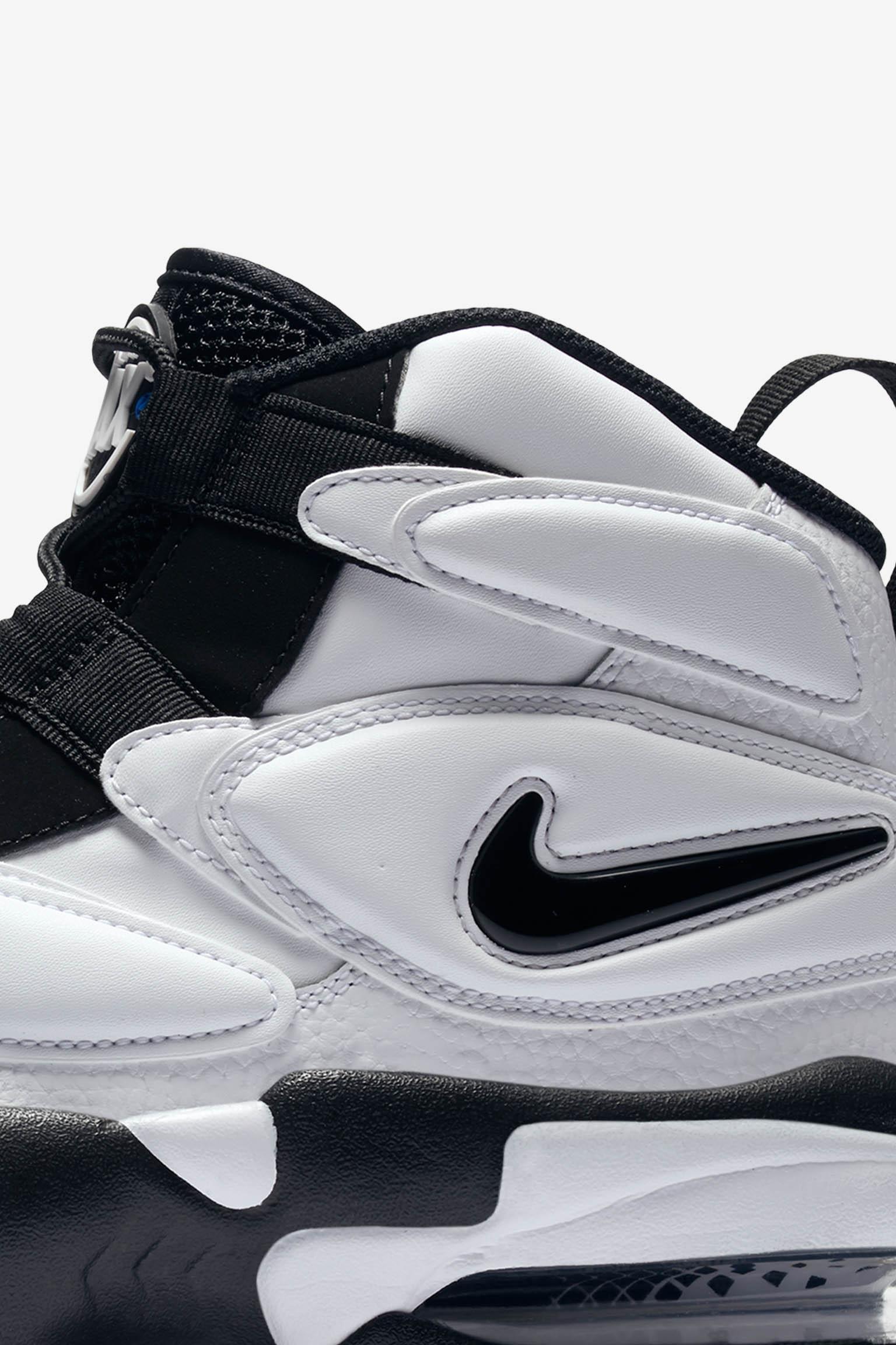 NIKE AIR MAX2 UPTEMPO white black 1