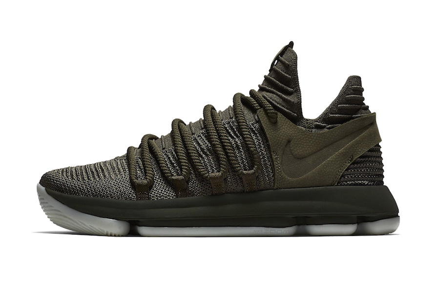 The Nike KD 10 Gets a Premium 'Olive' Colorway-1