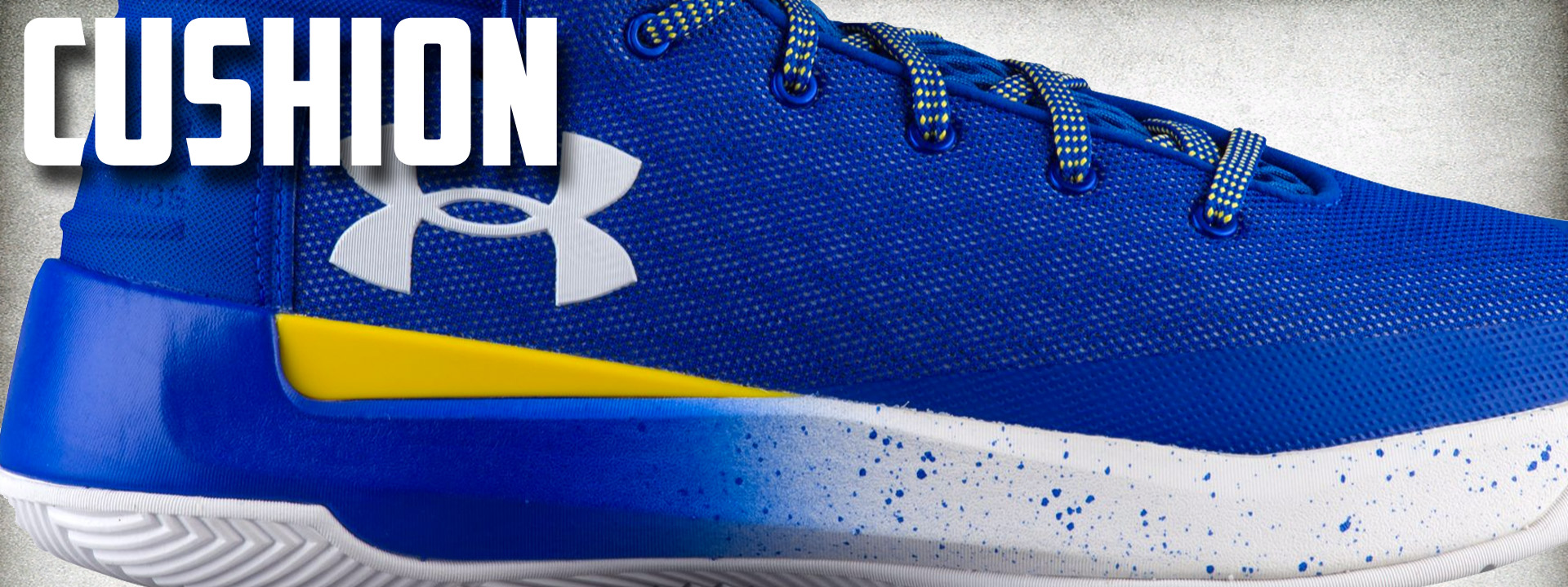 Under Armour Curry 3 ZER0 performance review cushion