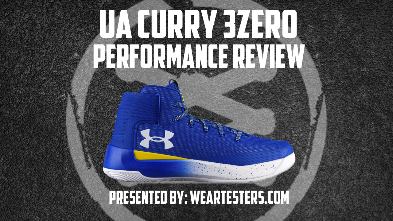 Under Armour Curry 3 ZER0 performance review thumbnail
