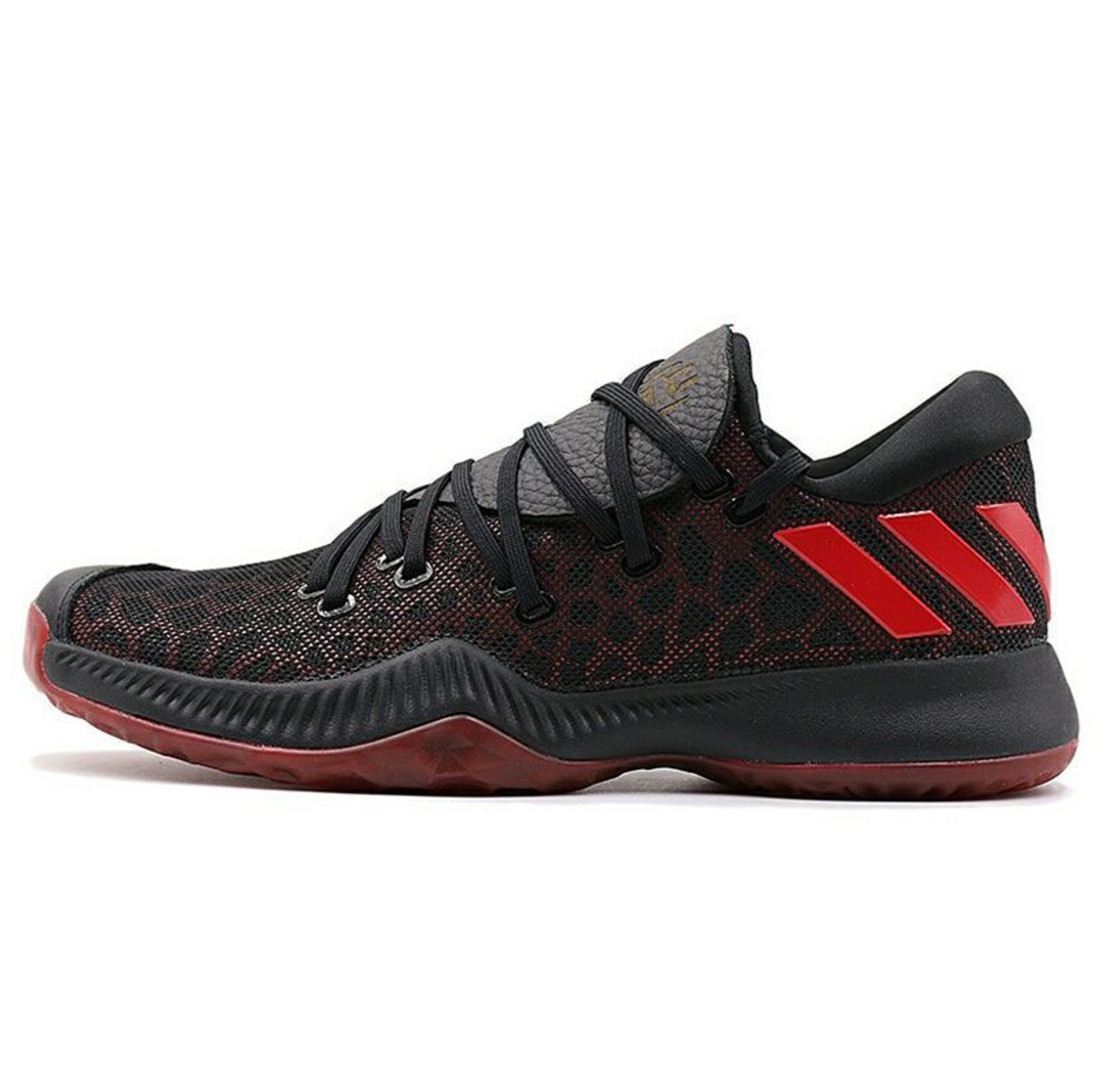 adidas harden be black red 2