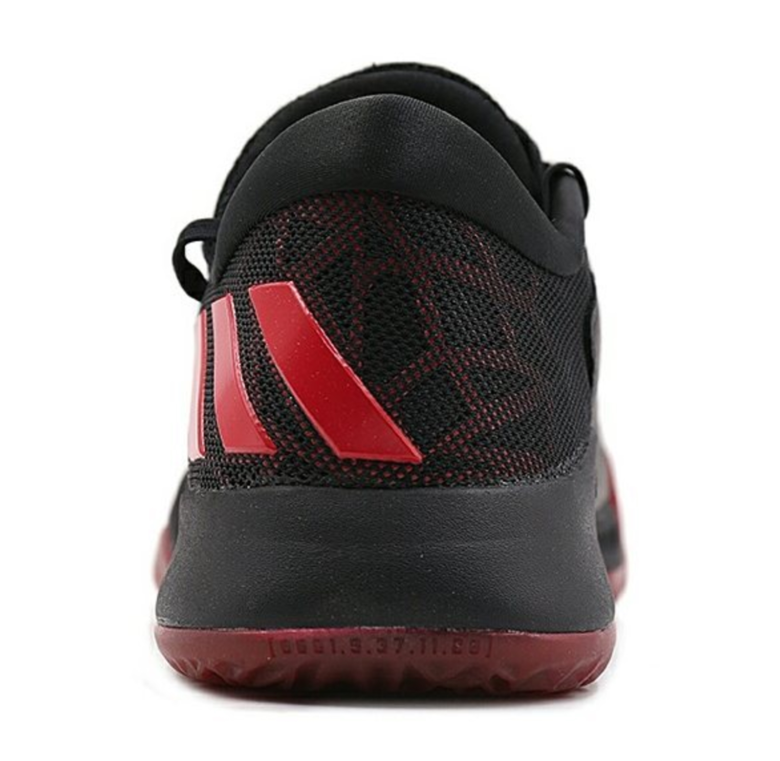 adidas harden be black red 4