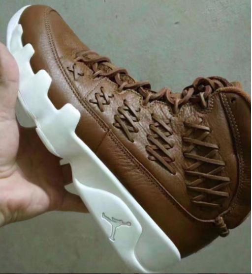 air jordan 9 baseball glove brown