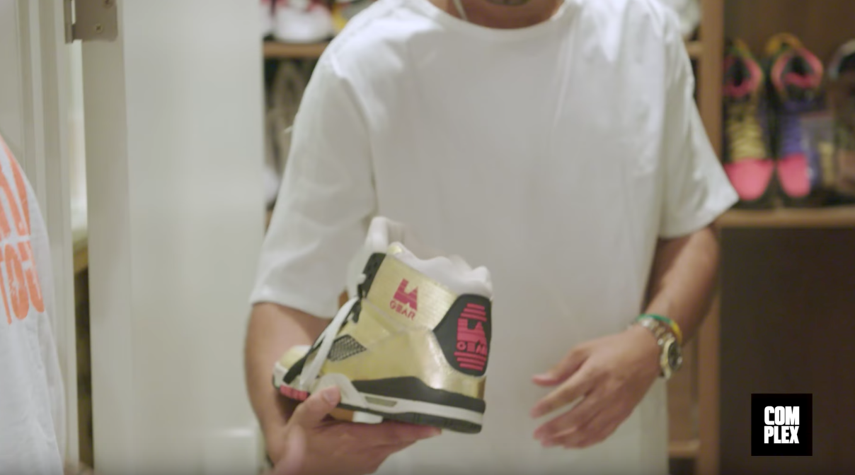 Chris Brown Shows off His Entire Sneaker Collection to Complex