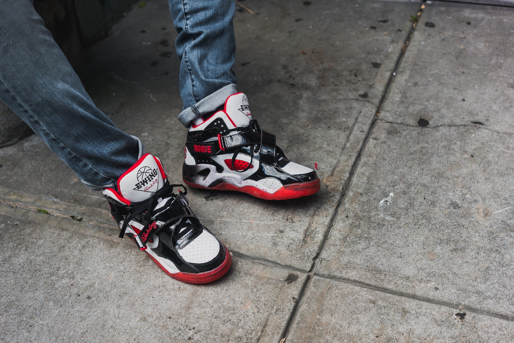 Ewing rogue white black red 26