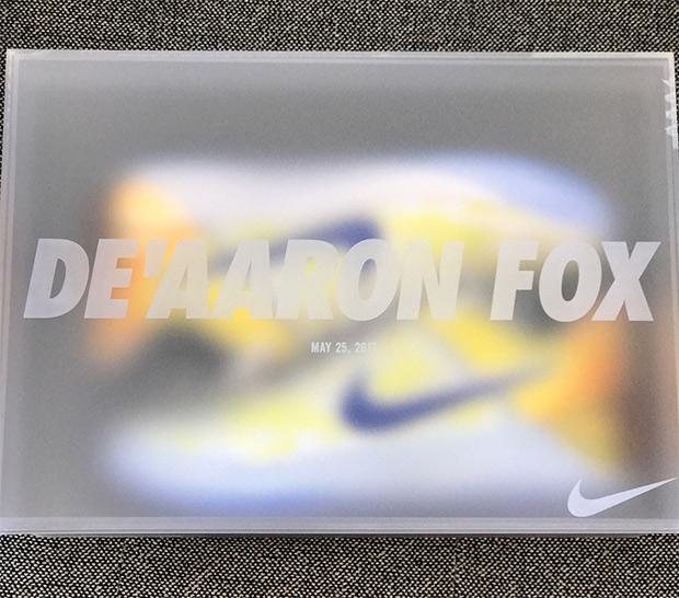Nike Sent De'Aaron Fox a Very Special Pair of Kobe A.D.'s-3