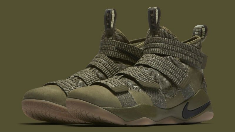 The Nike LeBron Soldier 11 Gets an Olive Makeover-4