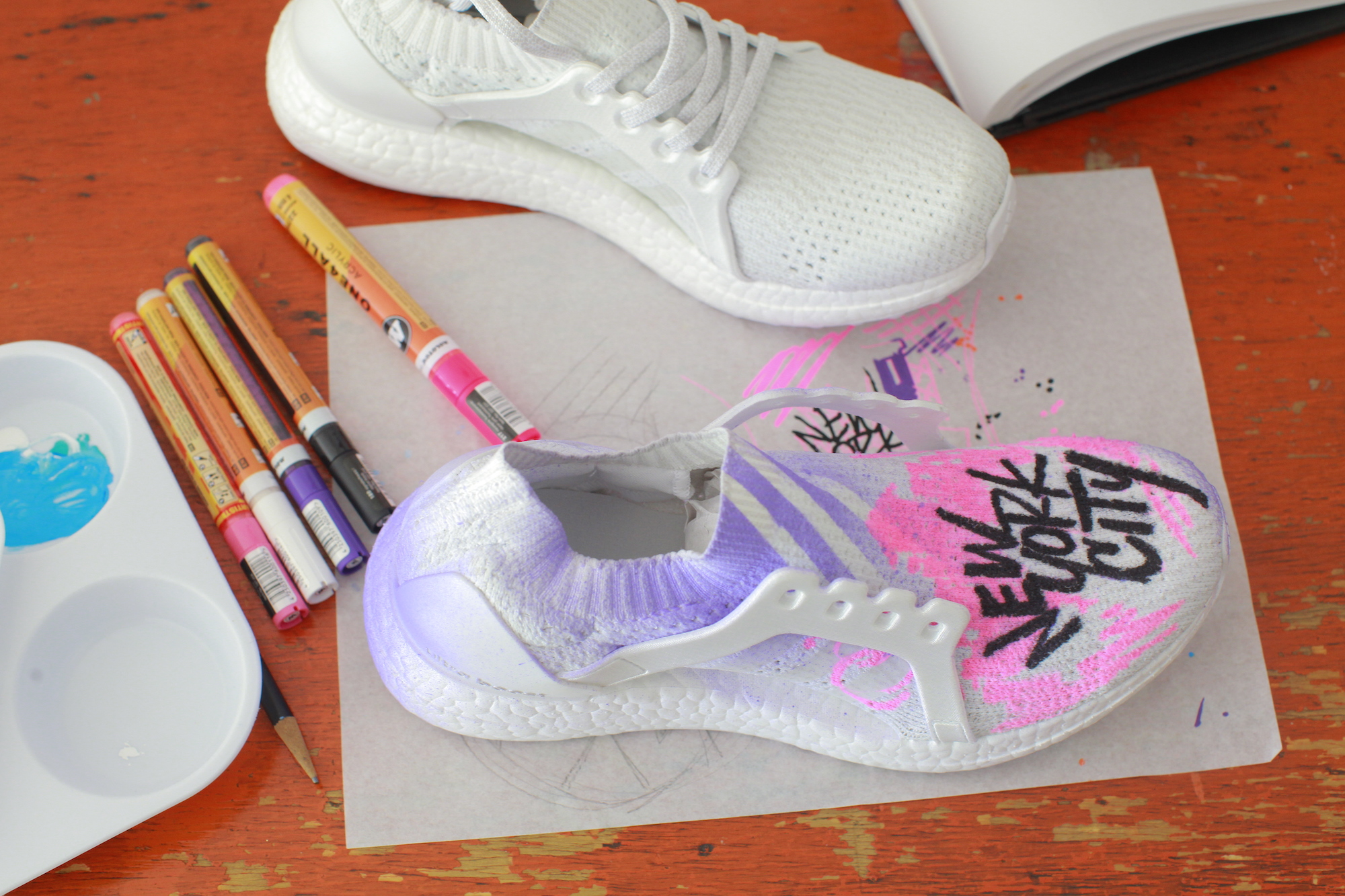 adidas Boost the Nation Custom Sneaker Auction 11