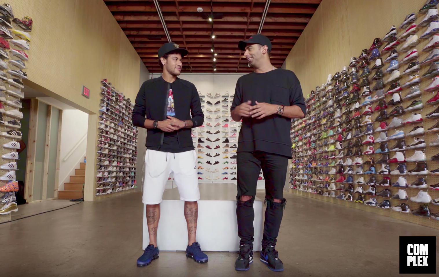neymar sneaker shopping
