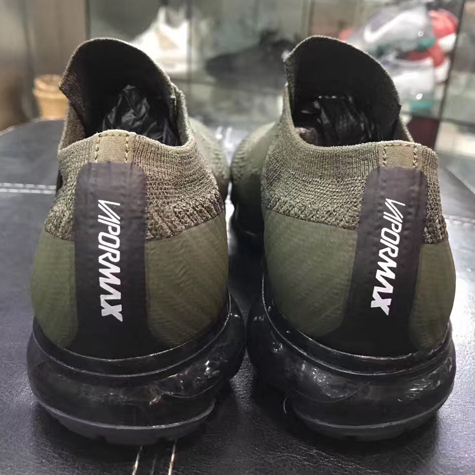 nike air vapormax laceless olive 7