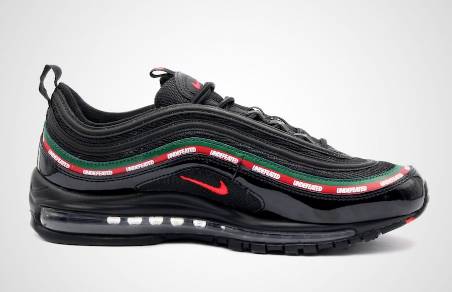 The UNDEFEATED x Nike Air Max 97 Has an