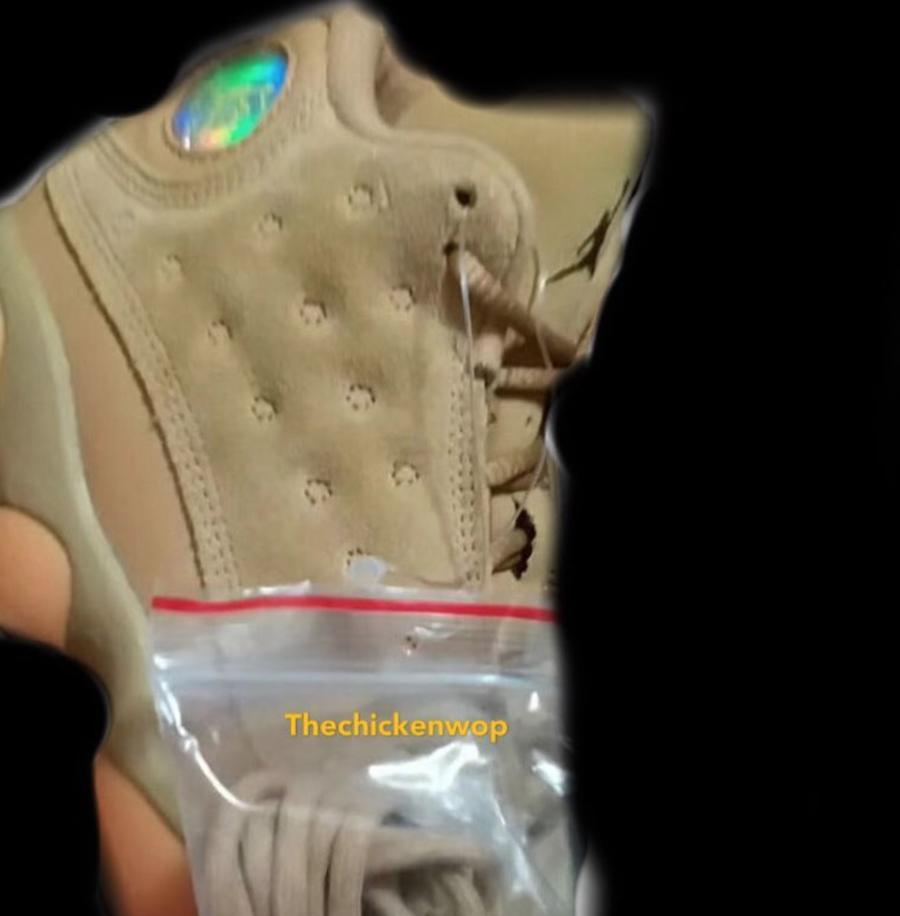 The Air Jordan 13 'Elemental Gold/Wheat