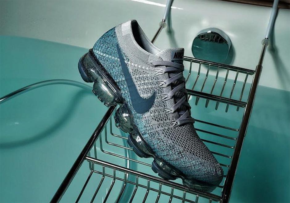 Nike Air VaporMax Grey:Teal 1