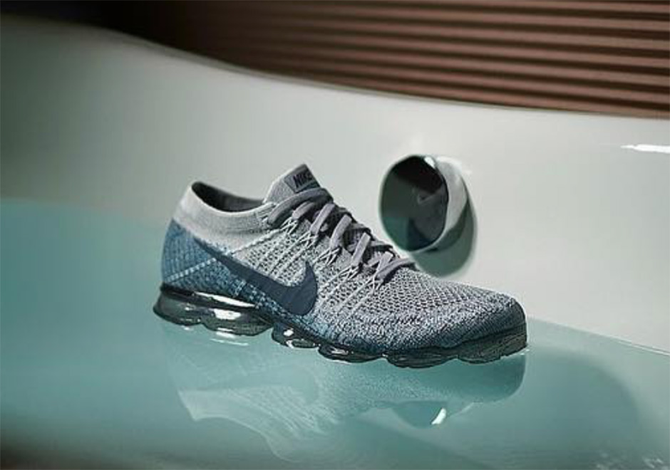 Nike Air VaporMax Grey:Teal 2