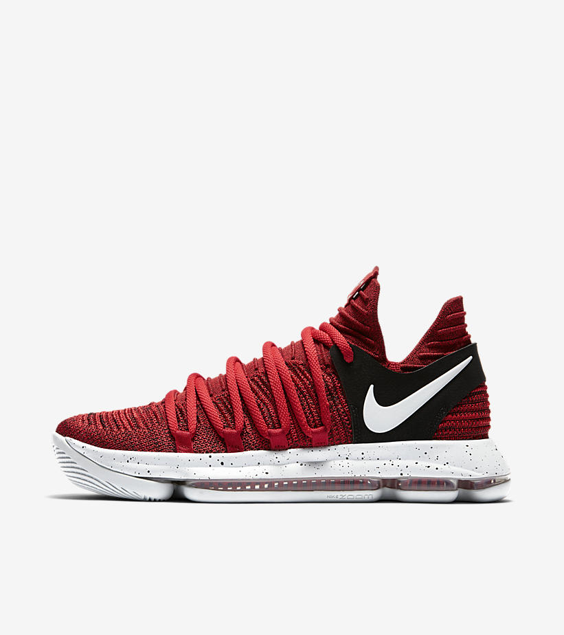 Nike KD 10 Red Velvet - Quick Look and