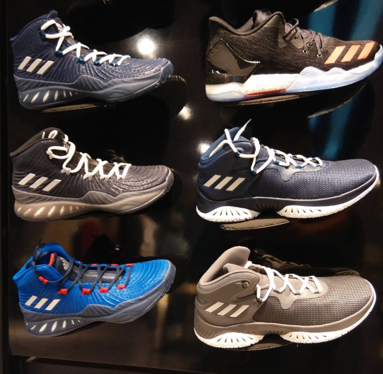 This adidas Crazy Explosive 2017 Sits Atop Bounce, Not Boost