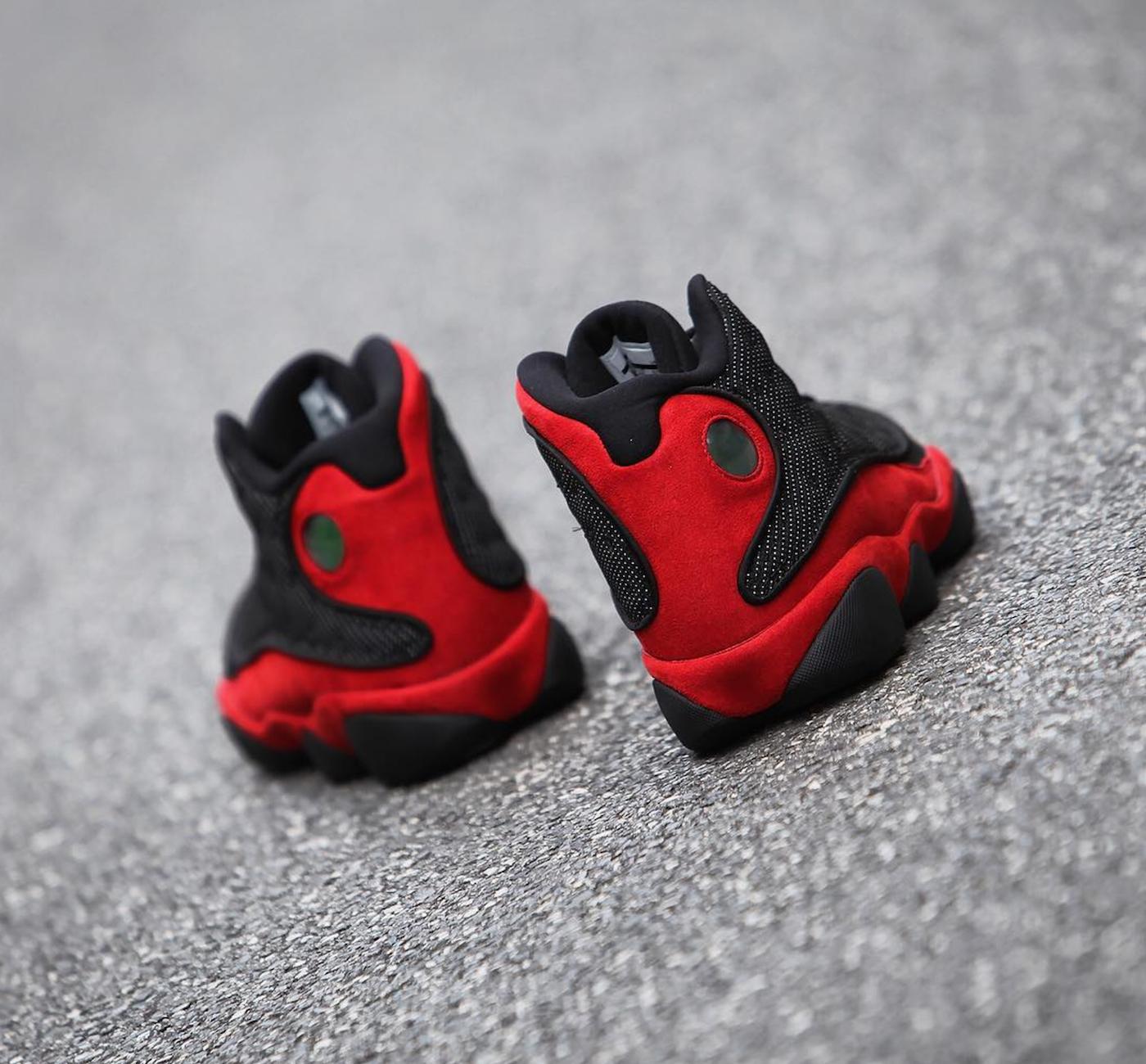 air jordan 13 retro black red 113