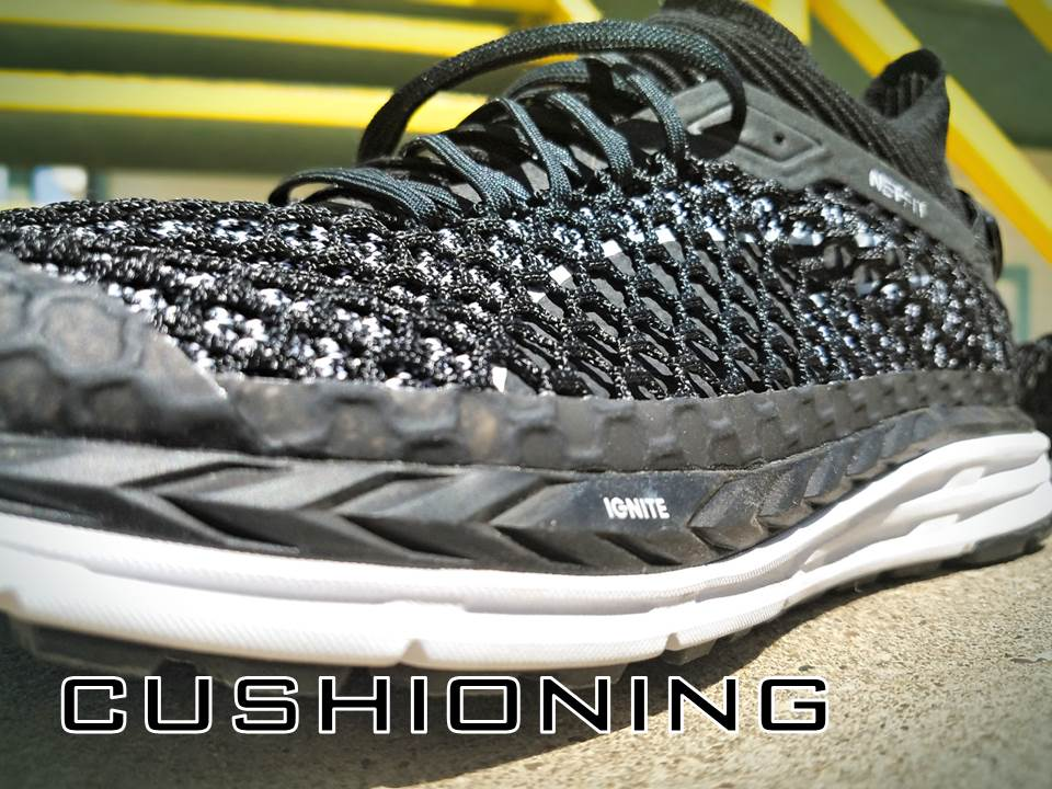 Puma Speed Ignite Netfit performance review cushioning
