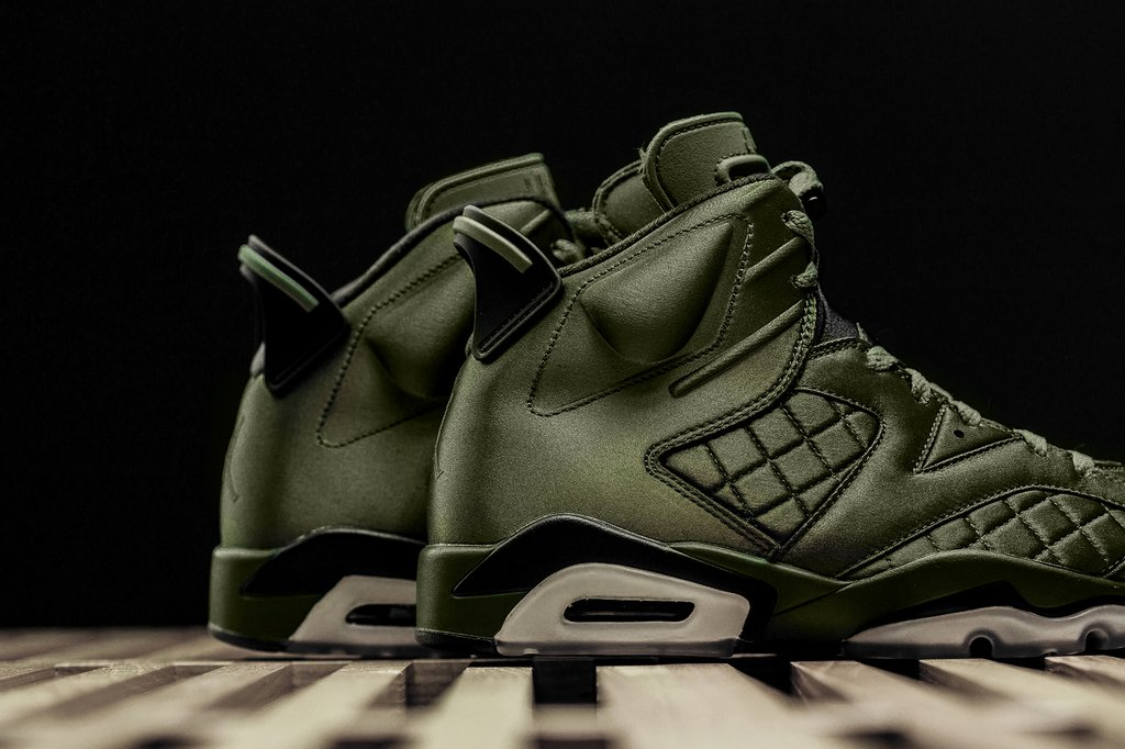 cheap sale outlet boutique detailed images Air Jordan 6 Pinnacle flight jacket SNL 5 - WearTesters
