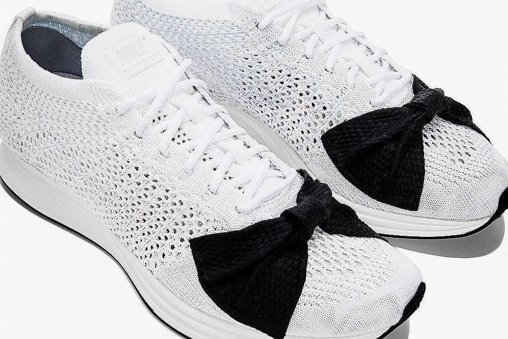 COMME des GARÇONS x Nike Flyknit Racer Bow Drops in London
