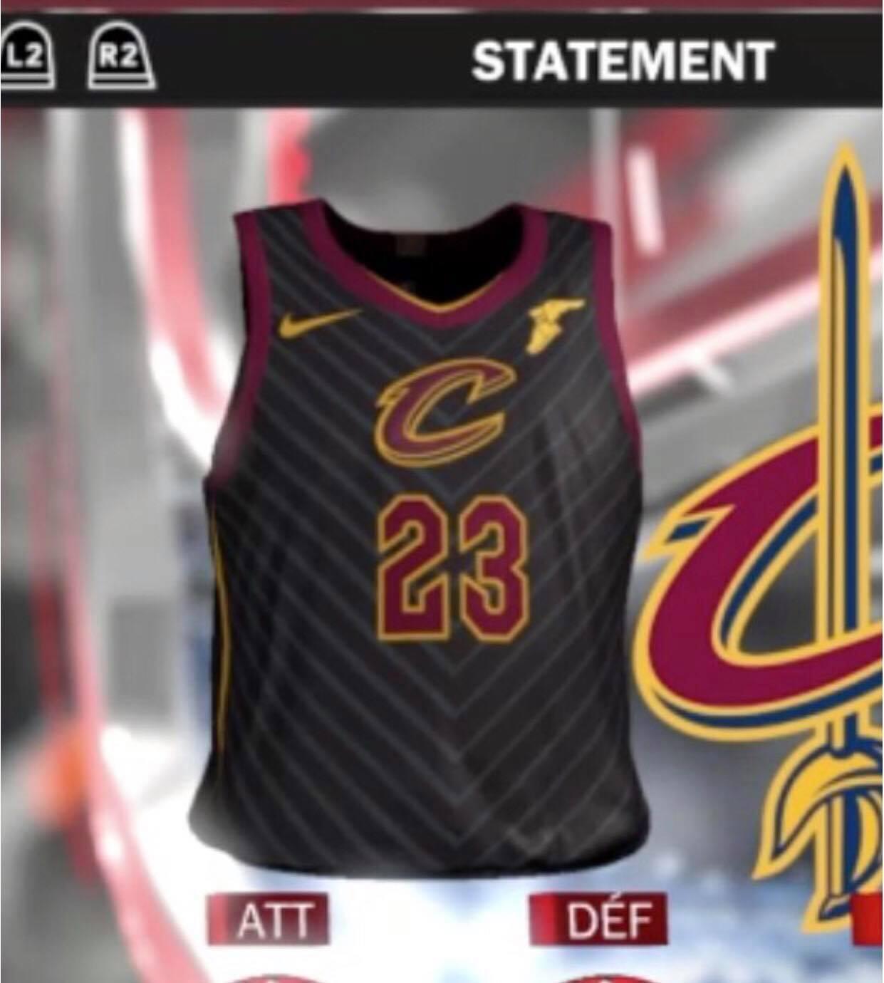 Sneak Peak of the Nike NBA 'Statement' Jerseys
