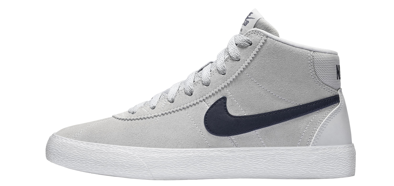 Women's Nike SB Bruin High skate shoe 10