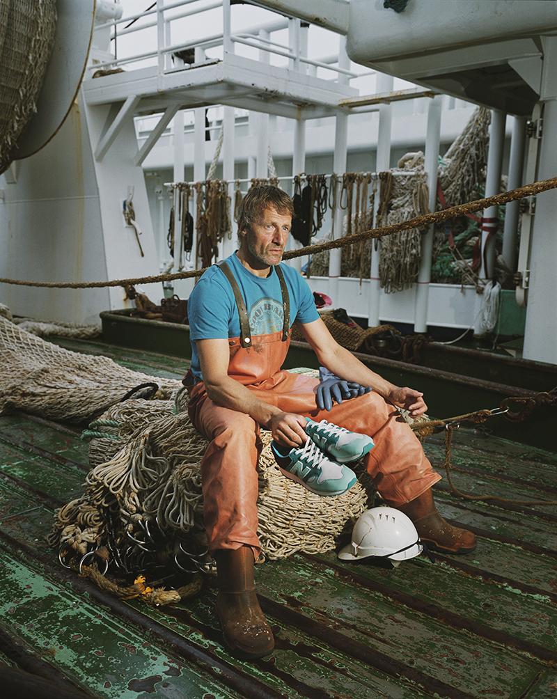 hanon new balance U520HNF fishermans blues 21