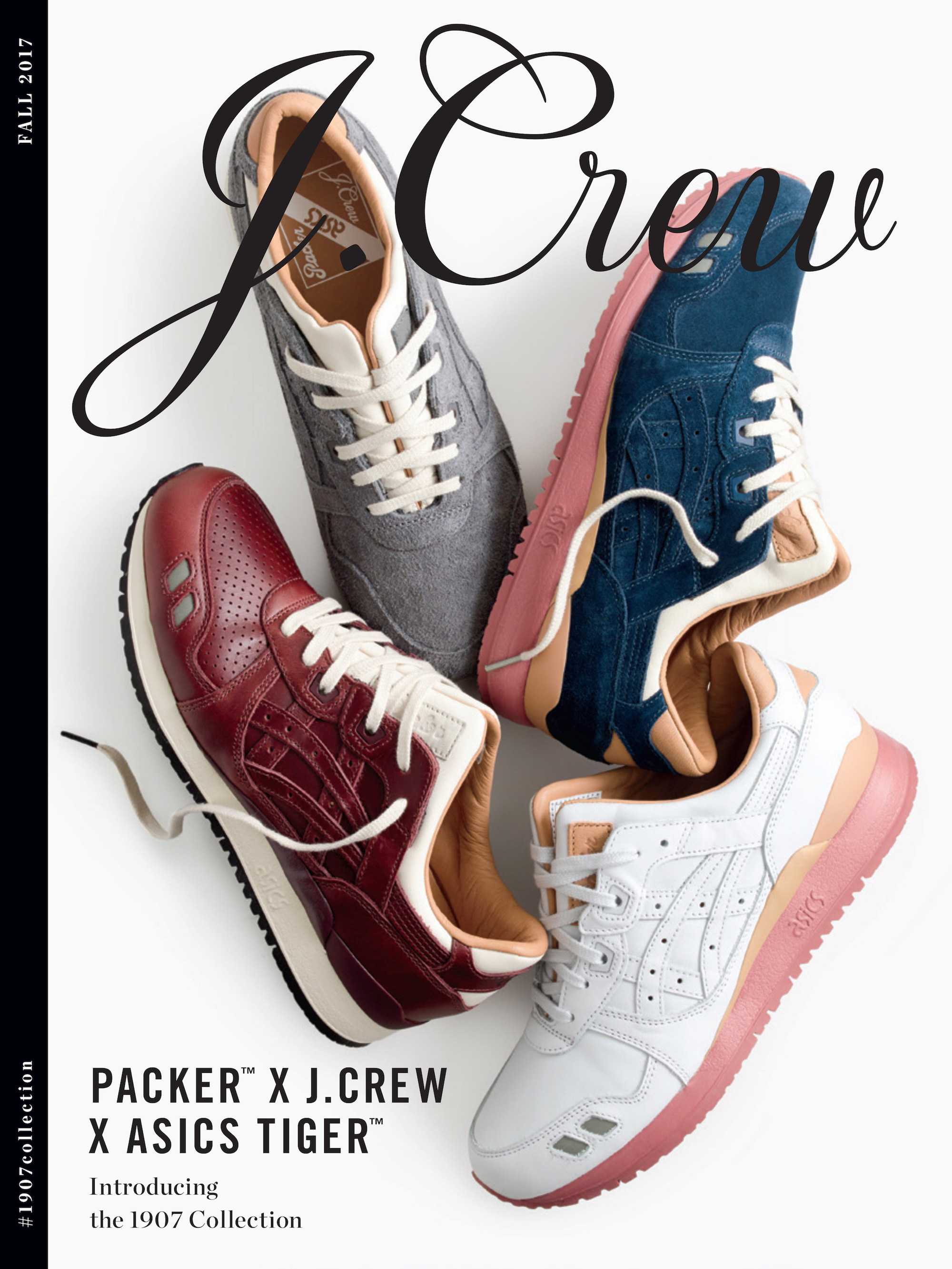 packer shoes jcrew asics tiger 1907 collection 2