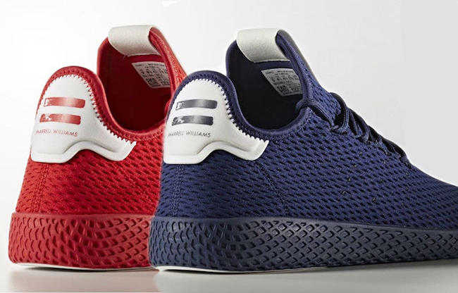 pharrell-adidas-tennis-hu-red-navy-blue-release-date