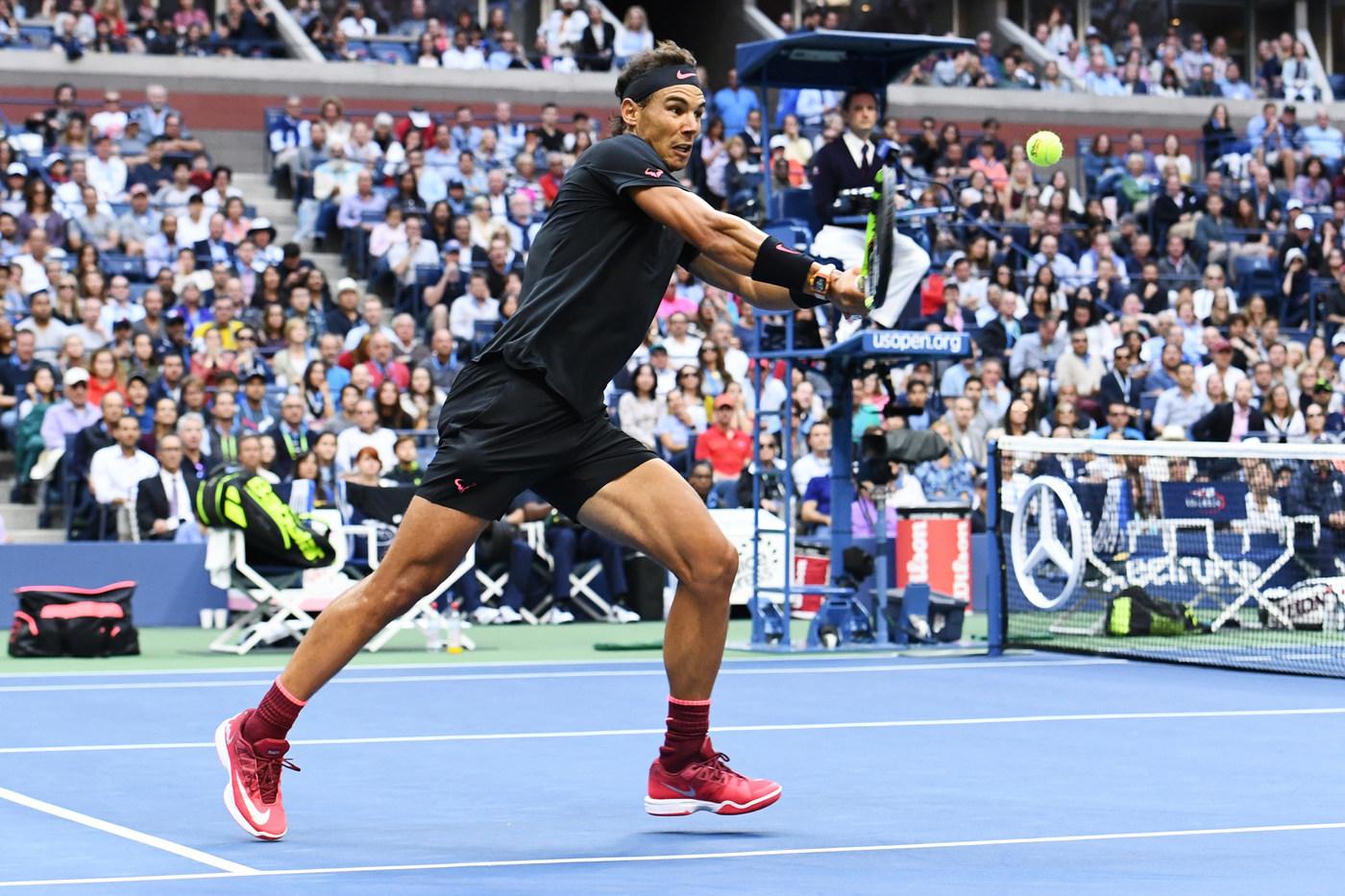 en el medio de la nada erótico comerciante  Vintage Nadal Wins U.S. Open Title in NikeCourt Lunar Ballistec 1.5 Legend  - WearTesters