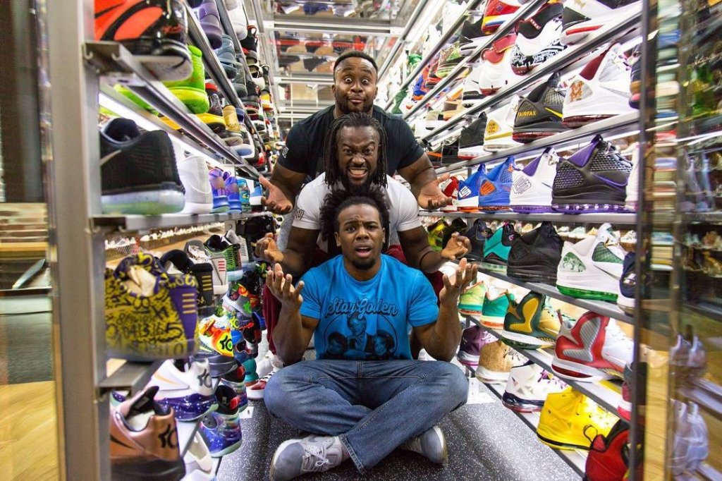 sneaker shopping the new day wale