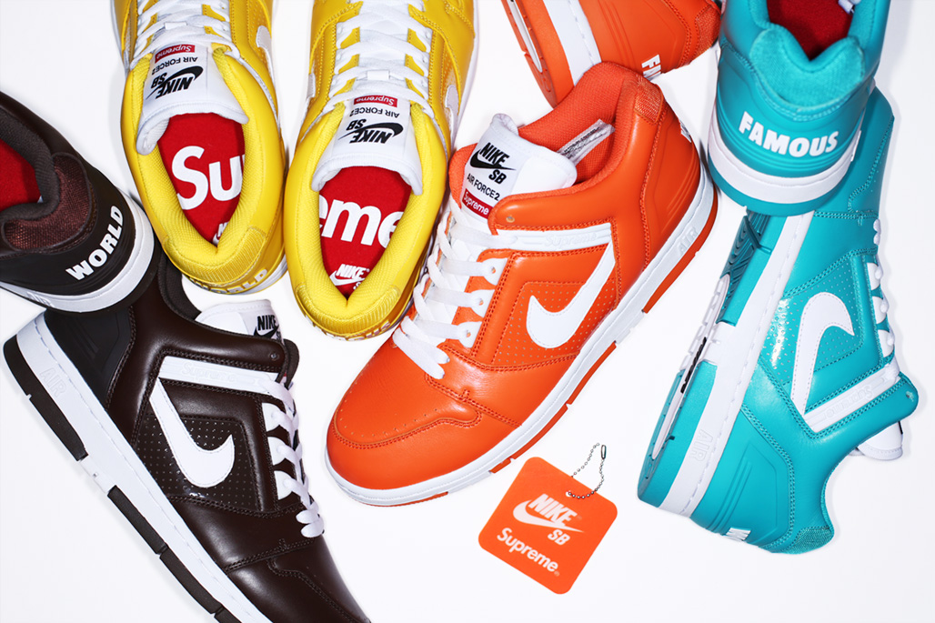 supreme nike sb air force 2 9