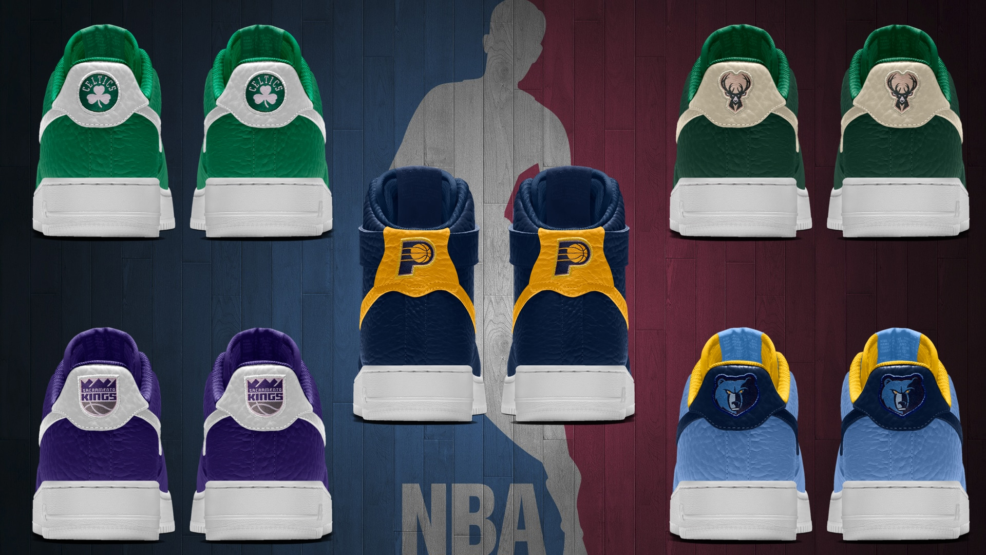 NBA Team Logos Now Available on NikeiD for the Air Force 14