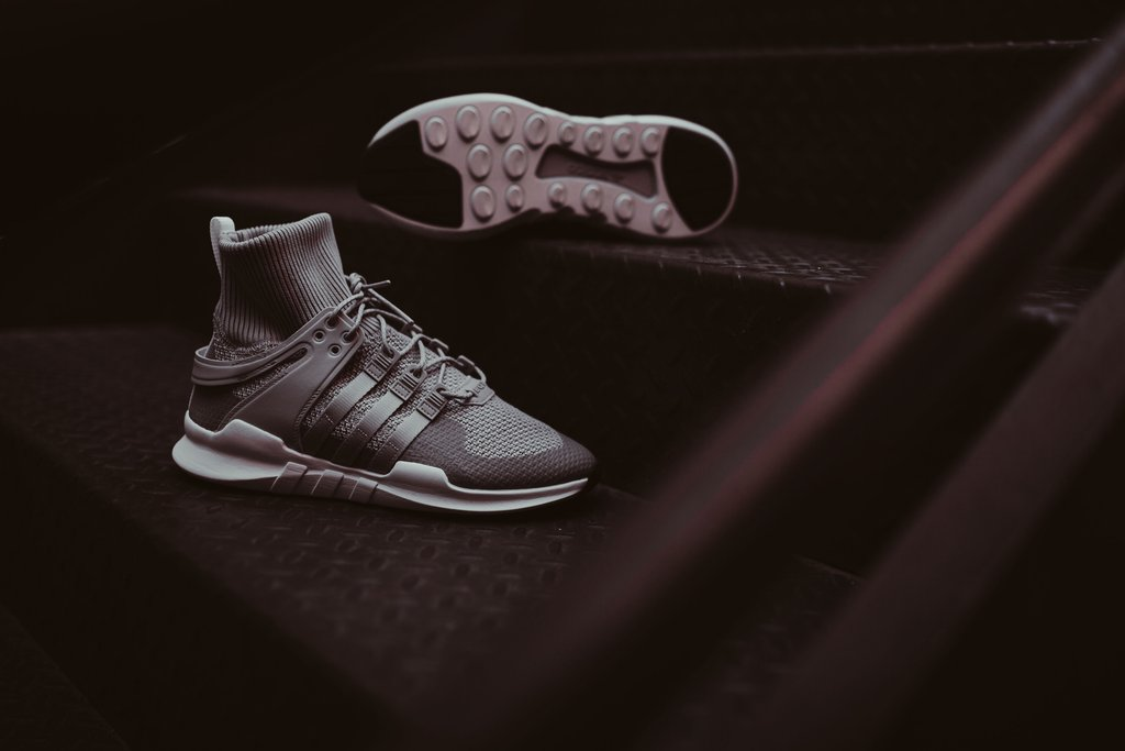 adidas Originals EQT Support ADV Winter Trainers Grey TwoGrey TwoFootwear White