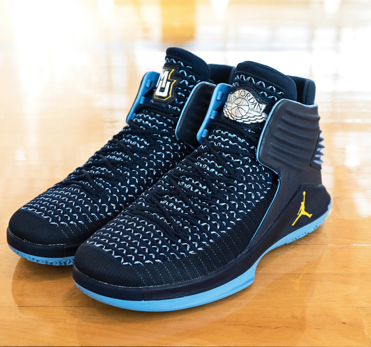 air jordan 32 marquette university PE 1