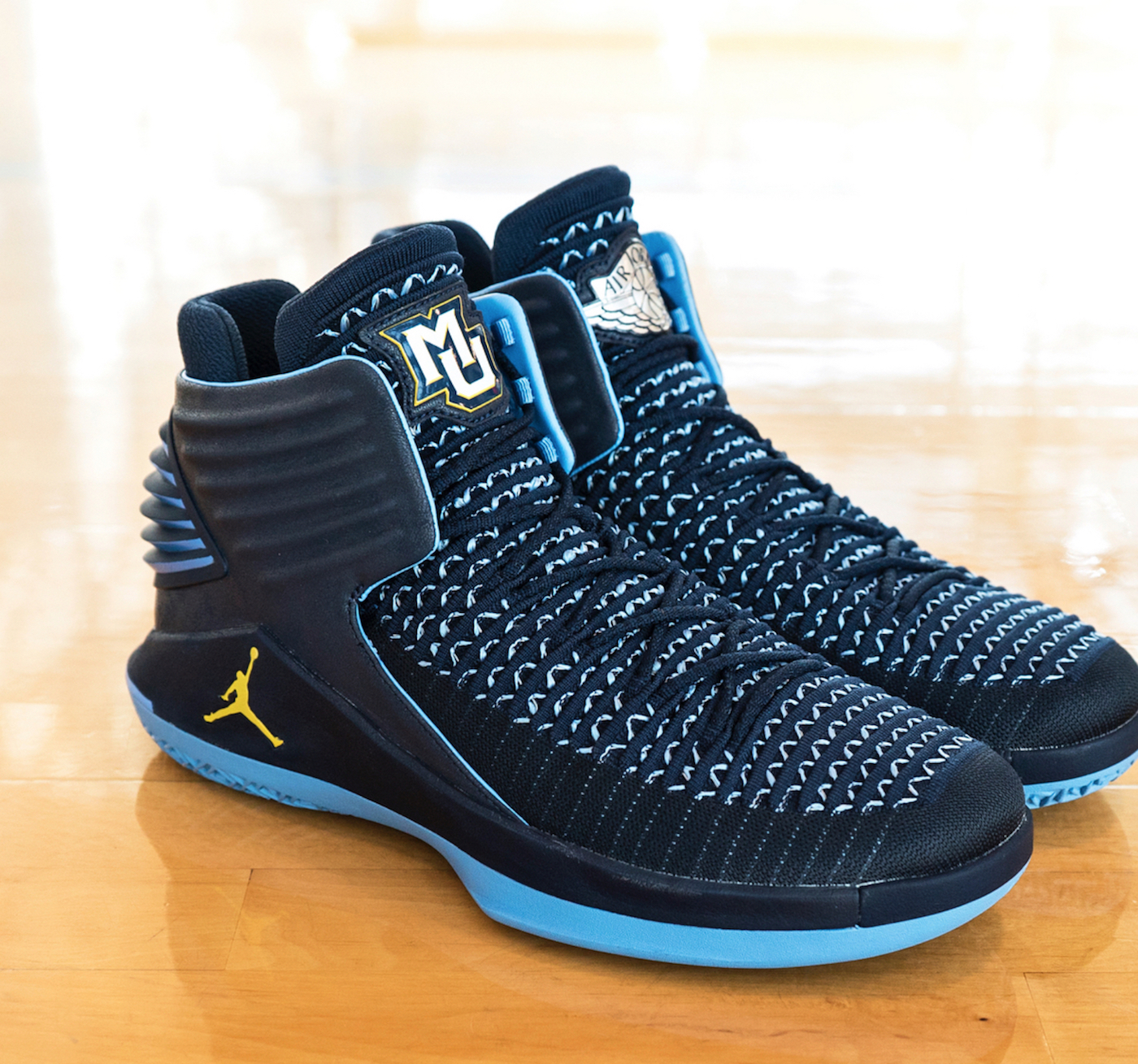 air jordan 32 marquette university PE 3