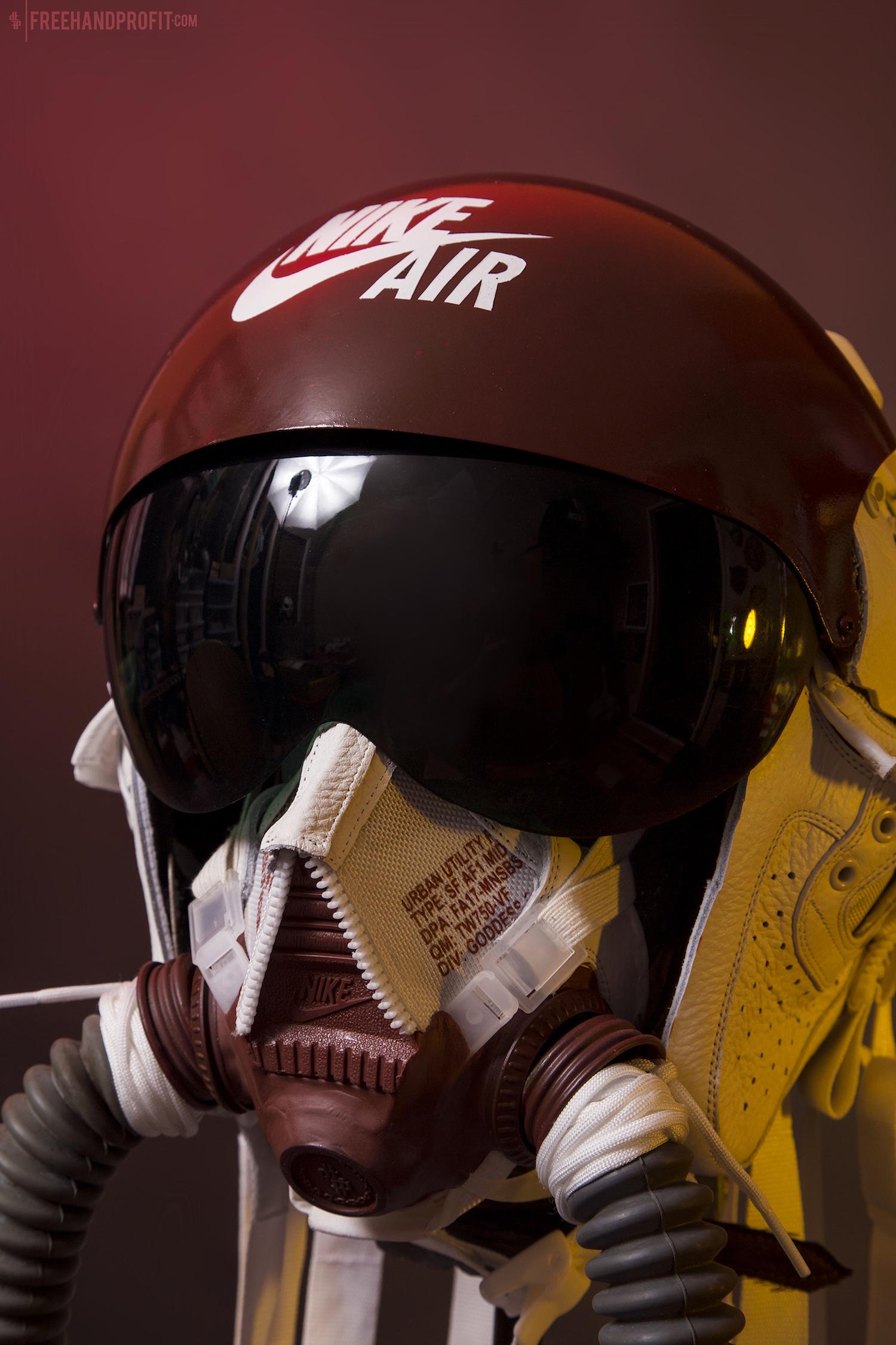 freehand profit SF-AF1 mid sneaker masks 11