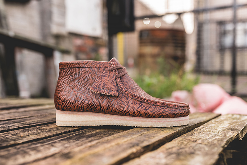 tonto Diploma roble  Horween ‏and Clarks Originals Link for Premium Wallabee Boots - WearTesters