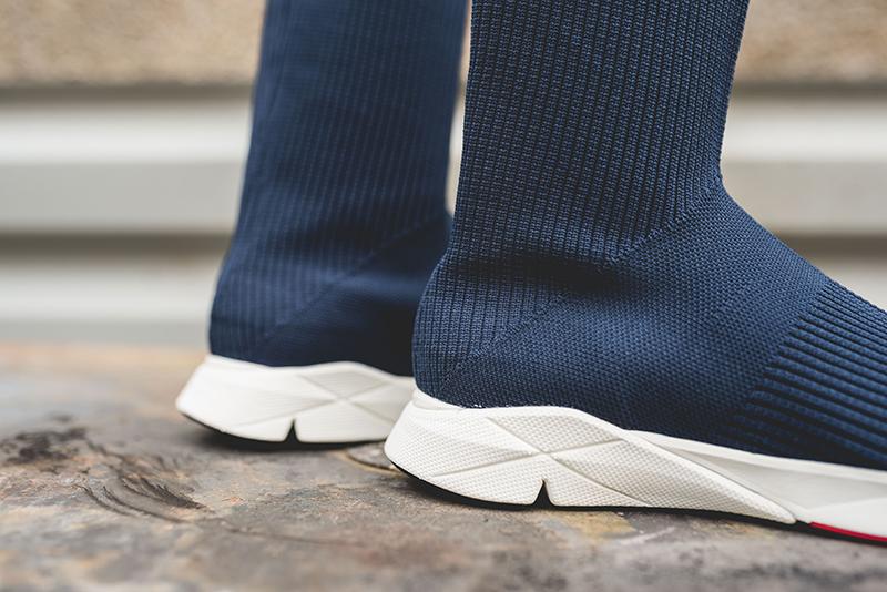 reebok sock runner ultraknit navy 3
