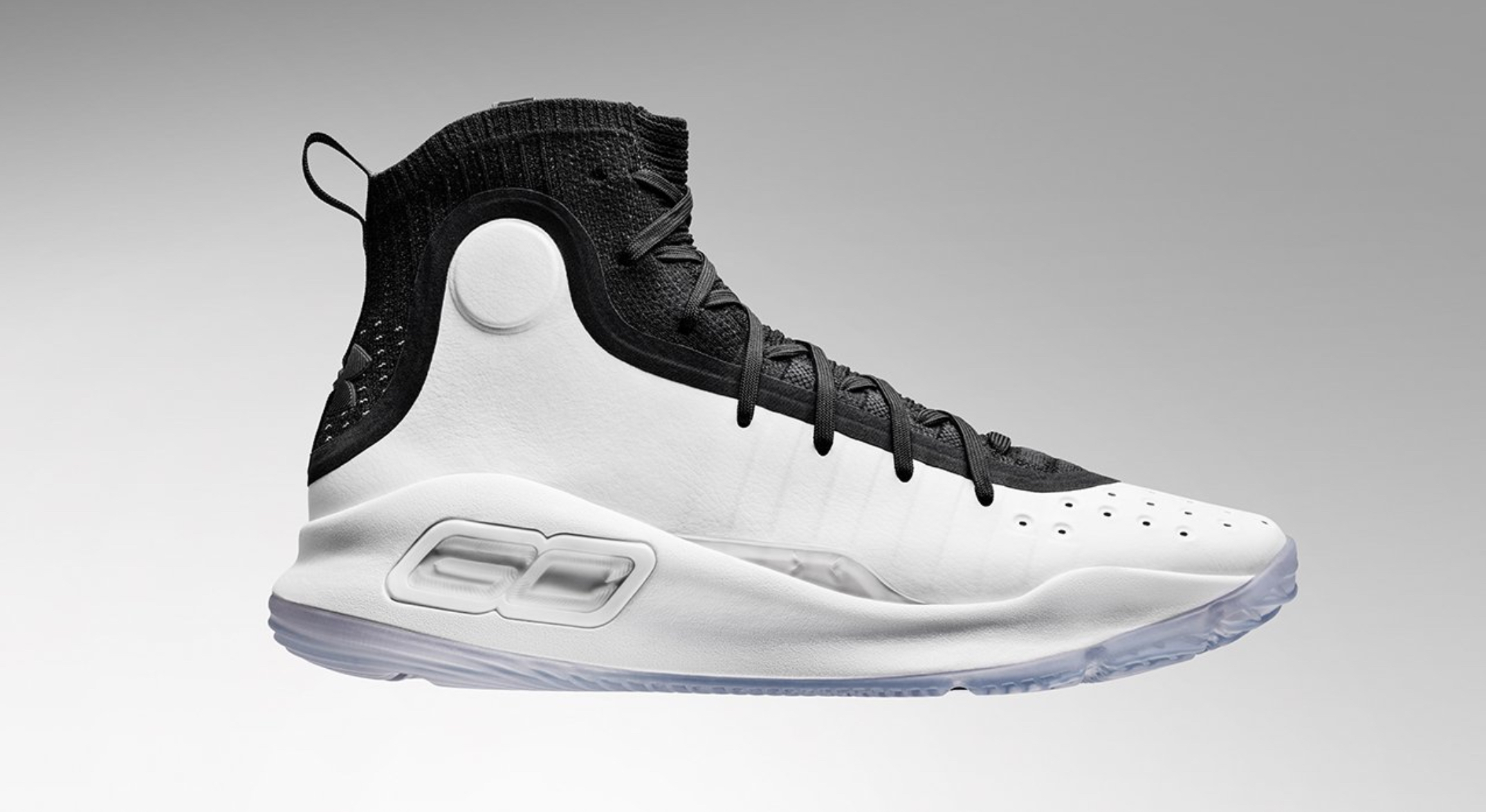 The Curry 4 'Black/White' is Available