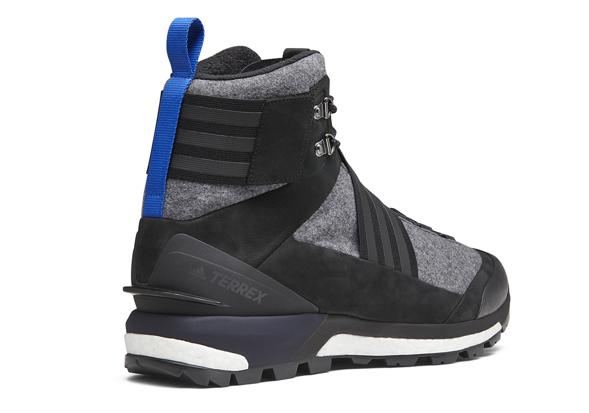 to buy buying now details for adidas and XHIBITION Team Up on Terrex Tracefinder Boot ...