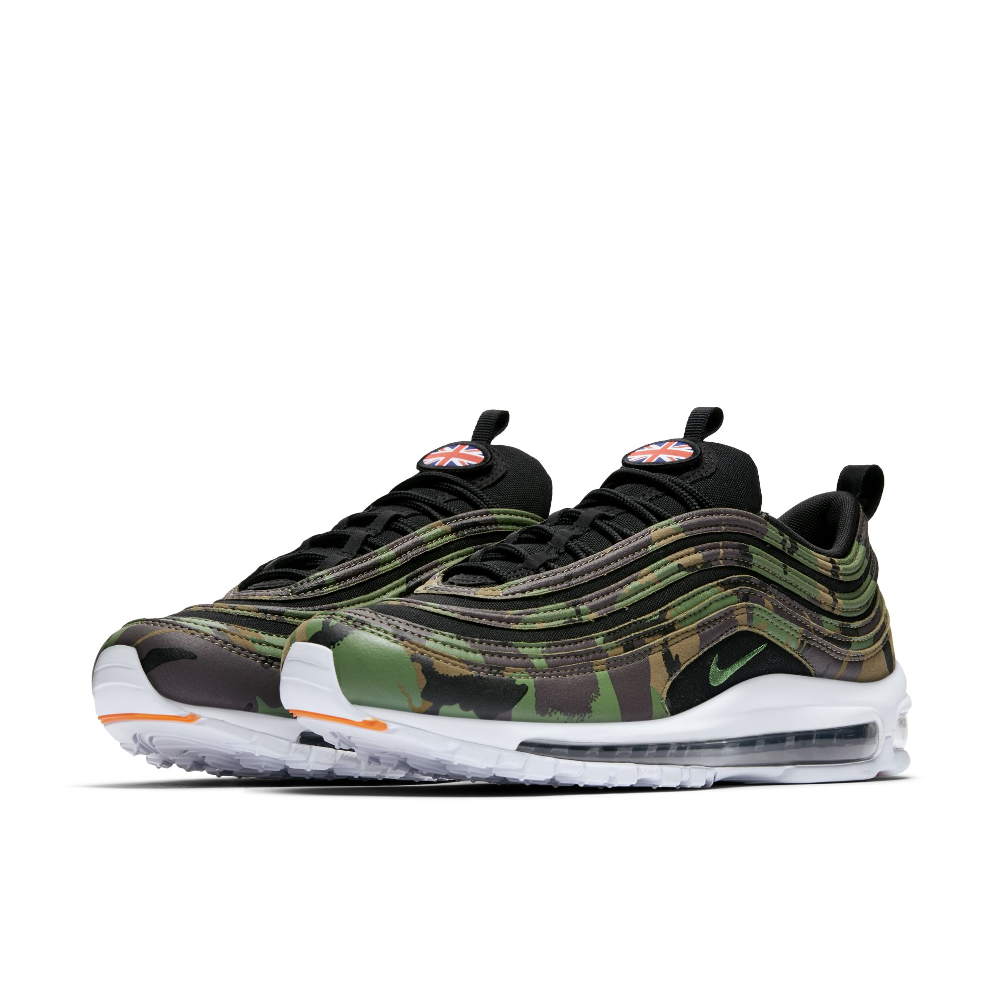 The Nike Air Max 97 Premium Camo Pack is for France, Germany